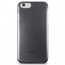 Macally - Metallic Snap-on Case iPhone 6/6s Plus (black)
