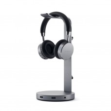 Satechi - Aluminum USB Headphone Stand (space grey)